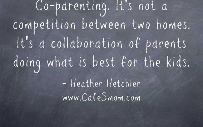 Co-Parent with Less Conflict