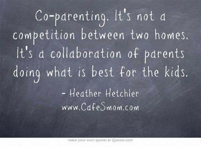 Co-Parenting Quote: Alberta Divorce Finances