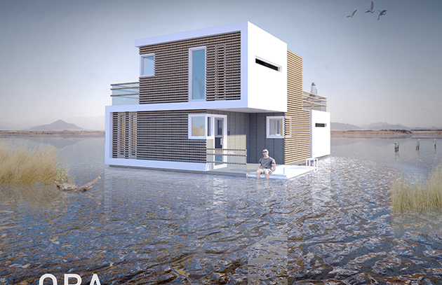 This Floating House Is Designed To Split In Two After Divorce