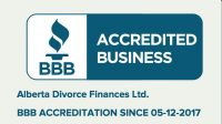 BBB Accreditation Alberta Divorce Finances
